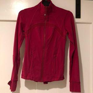 Pink Lululemon jacket Size 4